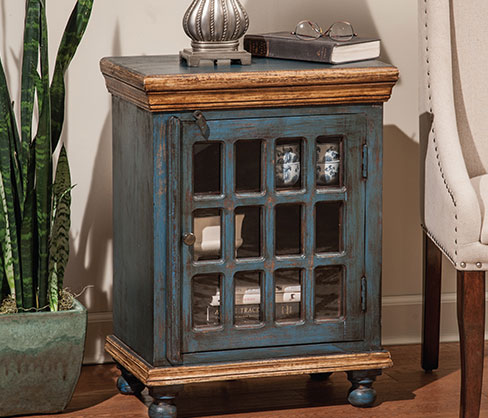 Accent 12 Glass Bedside